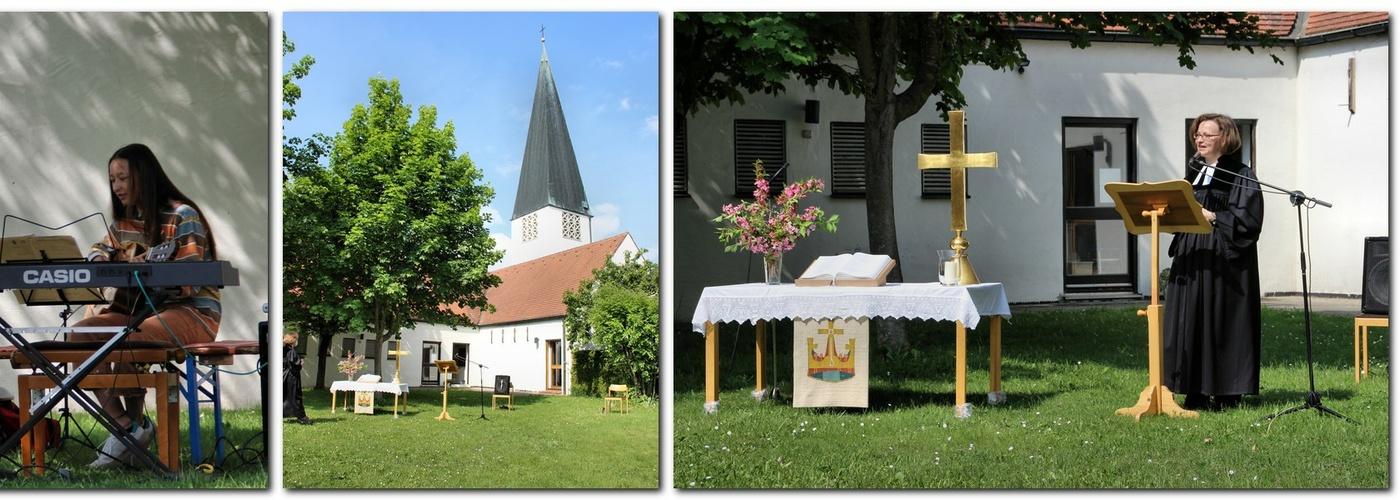 Christi Himmelfahrt im Kirchgarten